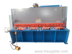 cnc hydraulic shearing machine cutting machine guillotine shearing machine cutting machine