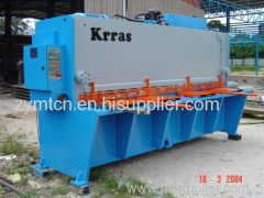 guillotine shear machine hydraulic