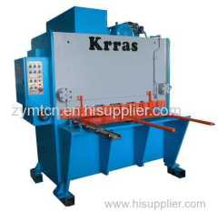 Guillotine Shearing Machine metal