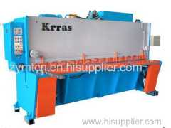 hydraulic guillotine for metal sheets