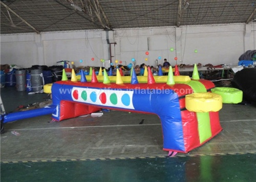 Children inflatable under pressure inflatable air juggler