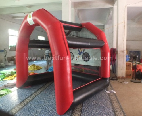 Commercial Inflatable Football Shoot Inflatable Football Goal Game