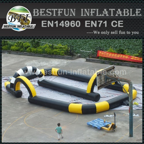 Inflatable Sport Game Racing Track For Go Cart