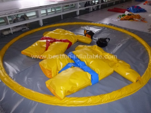 Foam padded adult sumo suits sumo wrestling mat for sale