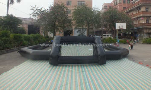 Giant inflatable football games court inflatable human football