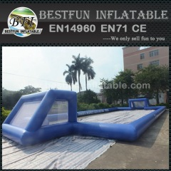 Soccer Pitch Inflatable Water Football Field