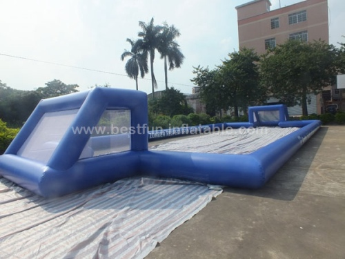 Giant outdoor inflatable football pitch inflatable soccer ground