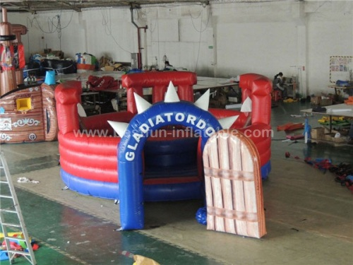 Inflatable Gladiator Joust fighting Arena inflatable jousting game
