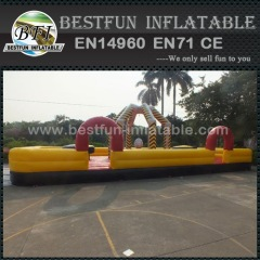 Inflatable sport games theme wrecking ball