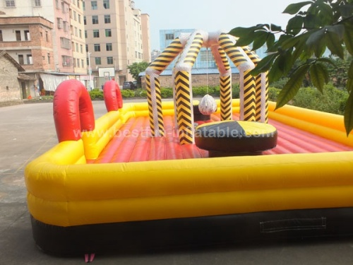 Inflatable wrecking ball sport game for adult