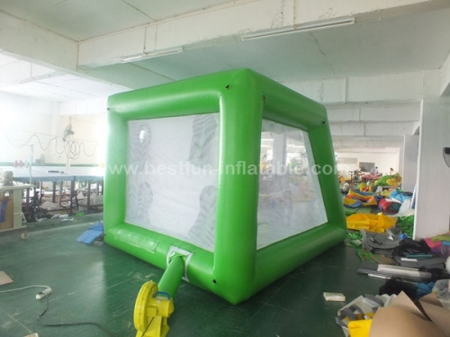 Simple Inflatable Football Toss Game shooting target inflatable football shootout