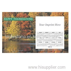 Custom Printed Foliage 8.5inch X 5.25inch Magnets