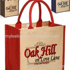 Stylish Rope Handle Jute Bags