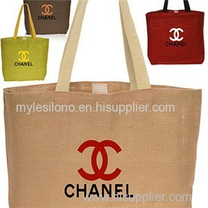 Carry-on Jute Tote Bags