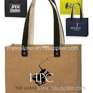 Colored Jute Tote Bags