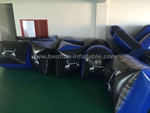 Inflatable paintball bunkers inflatable paintball shooting range