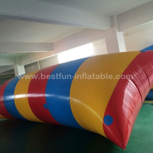 Cheap inflatable water blob aqua blob jump