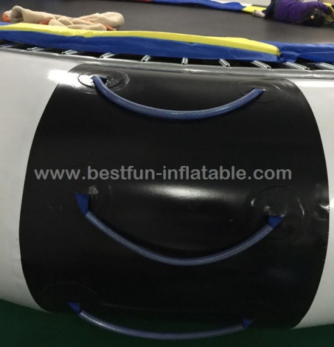 Inflatable floating trampoline inflatable water bounce