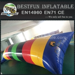 PVC Tarpaulin Inflatable Water Jumping Pillow
