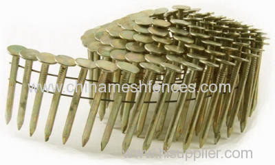 Twist Ring pallet nail coil
