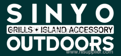 Stainless BBQ Island Cabinet Door 31