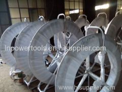 Fiberglass Cable Guide underground Roller