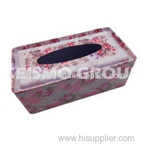 Tin Tissue Packaging Box