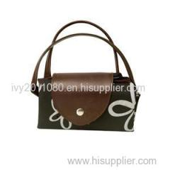 Black Nylon Shopping Bags