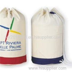 White Canvas Packaging Bags