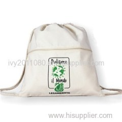 Drawstring Canvas Packaging Bags