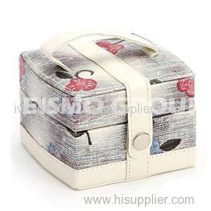 Button Seal Cosmetic Bags