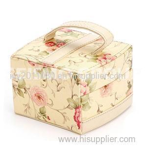 Flower Printed Cosmetic Bags