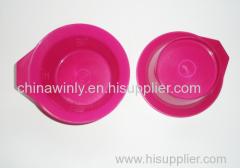 Pink Plastic dye bowl