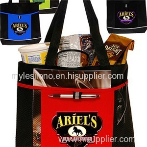 Non-Woven Grocery Tote Bags Printed With Logo