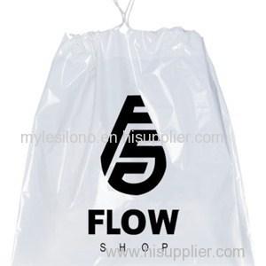 Custom Printed Plastic Drawstring Bags