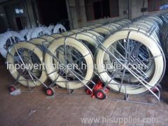 cable wire device movable rodder