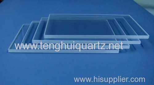 The Jiangsu quartz glass processing precision