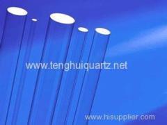 High temperature resistant quartz glass rod