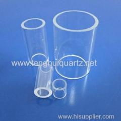 High temperature resistant optical quartz glass tube