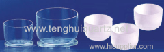 High temperature low type quartz crucible