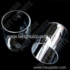 High temperature quartz bell jar