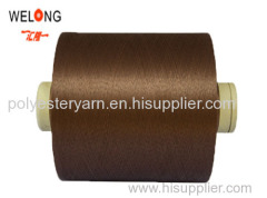 color 150d 48f polyester dty yarn