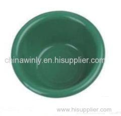 グリーンラウンドプラスチック色合いボウル