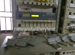 Mobile phone battery discharge and charge machine