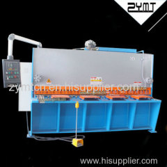 hydraulic guillotine for metal sheet