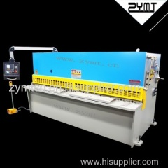 ZYMT NC hydraulic shearing machine with CE and ISO 9001 certification