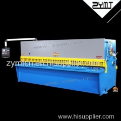 ZYMT hot sale hydraulic sheet metal cutting machine with CE and ISO9001 certification