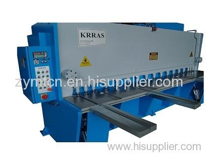 E21 NC hydraulic guillotine