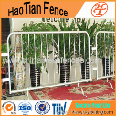 Hot-dipped Galvanized Crowd Control Fencing
