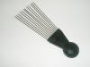 12 metal pin Plastic Professional Comb